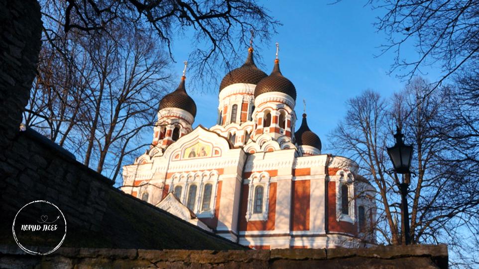 St Alexander Nevsky Cathedral in Tallinn