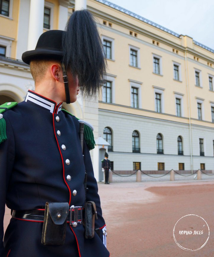 Royal Palace Oslo Guard
