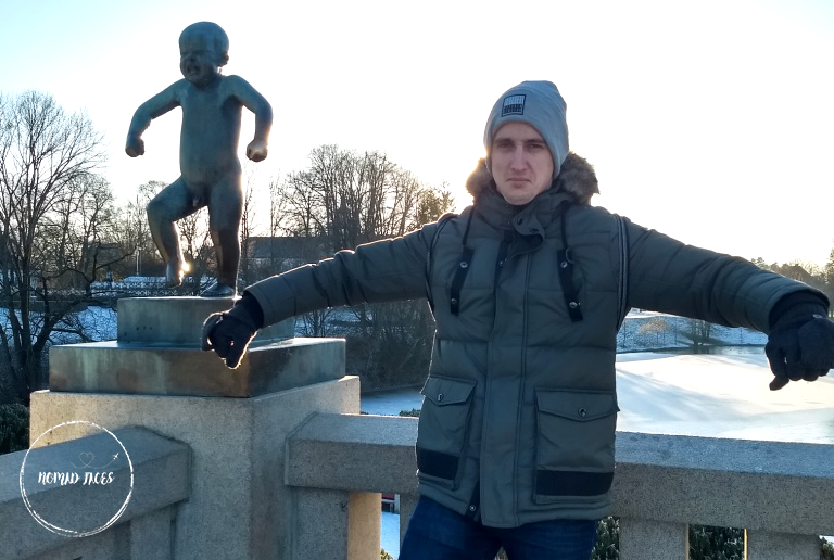 Sculpture Frogner Park Oslo