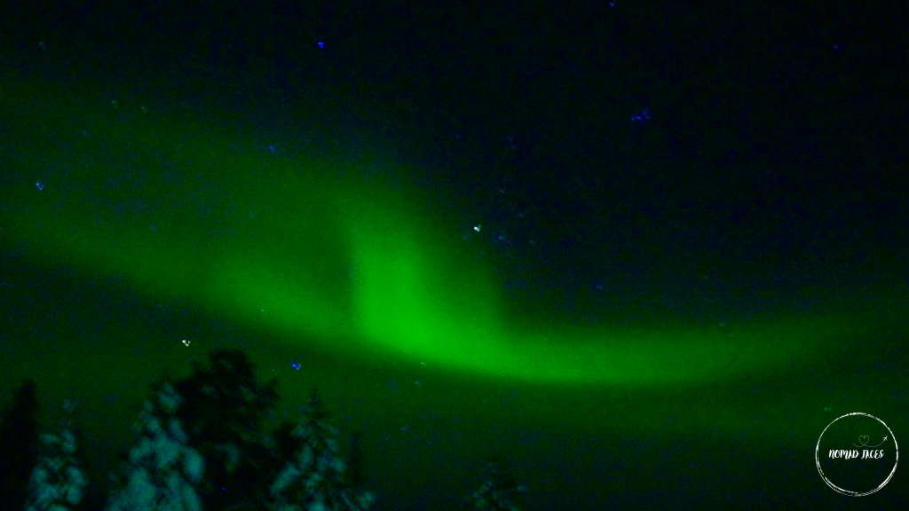 Northern Lights in Lapland Finland